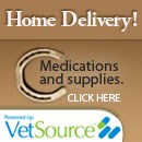 Delivery service for pet foods and medications