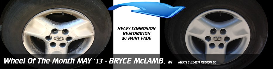 Wheel of the Month May '13, Bryce McLamb, WT, Myrtle Beach Region SC