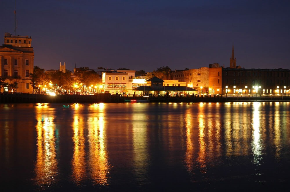 Downtown Wilmington and the Cape Fear River