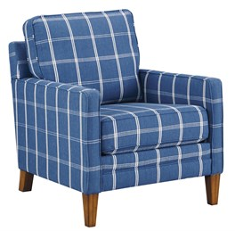 Adderbury Accent Chair Cobalt