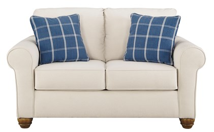 Adderbury Upholstered Loveseat Bone
