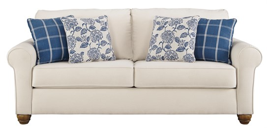 Adderbury Upholstered Sofa Bone