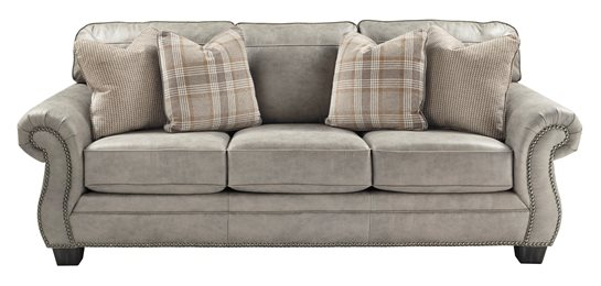 Olsberg Upholstered Sofa Steel