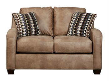 Alturo Upholstered Loveseat Dune