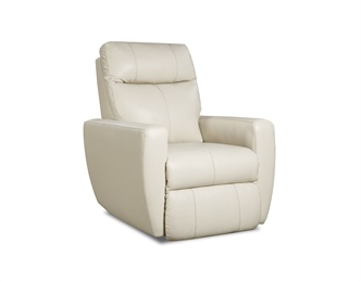 Knock Out Leather Rocker Recliner