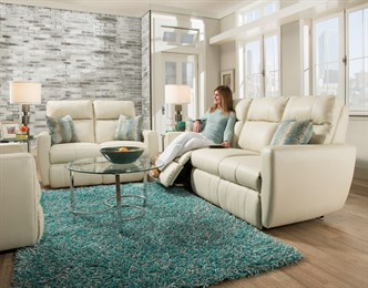 Knock Out Double Reclining Loveseat
