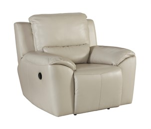 Valeton Leather Zero Wall Recliner Cream