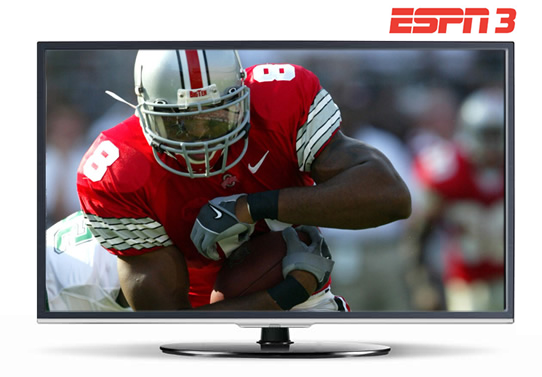 Watch live sports with ESPN3