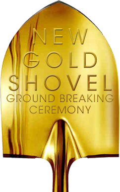 New Gold Shovel Groundbreaking Ceremony