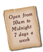 Open 7 Days A Week From 10AM until Midnight