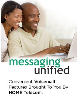 Convenient New Voicemail Features Brought To You By HOME Telecom.
