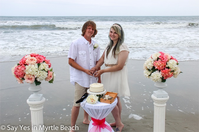 Cheap Myrtle Beach 349 Wedding Packages