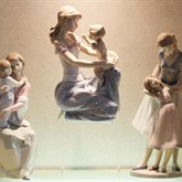 Lladro A Mother's Love available at Albert F. Rhodes Jewelers