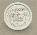 Beach House Wine Bottle Coaster
