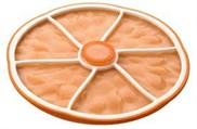 Citrus Stacking Lid Orange Larg
