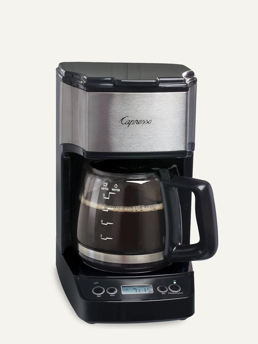 Carolina Coffee Capresso NEW Mini Drip 5-Cup Programmable Coffee Maker