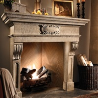 Francois and Co. Scagliola mantels