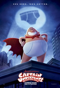 Captain Underpants - Now Playing on Demand