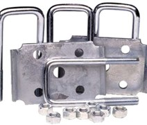 AXLE TIE PLATE KIT 2IN SQ