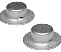CAP NUTS 1/2IN 50/BX
