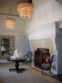 Foyer Fireplace