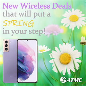Get a New Phone from ATMC this Spring