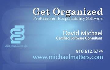 David Michael Matters V Card