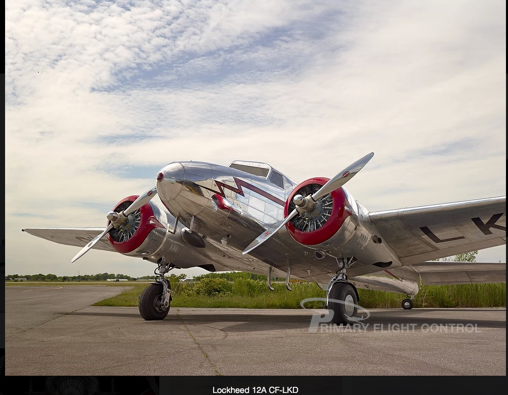 Airplane For Sale - 1937 Lockheed Electra 12A