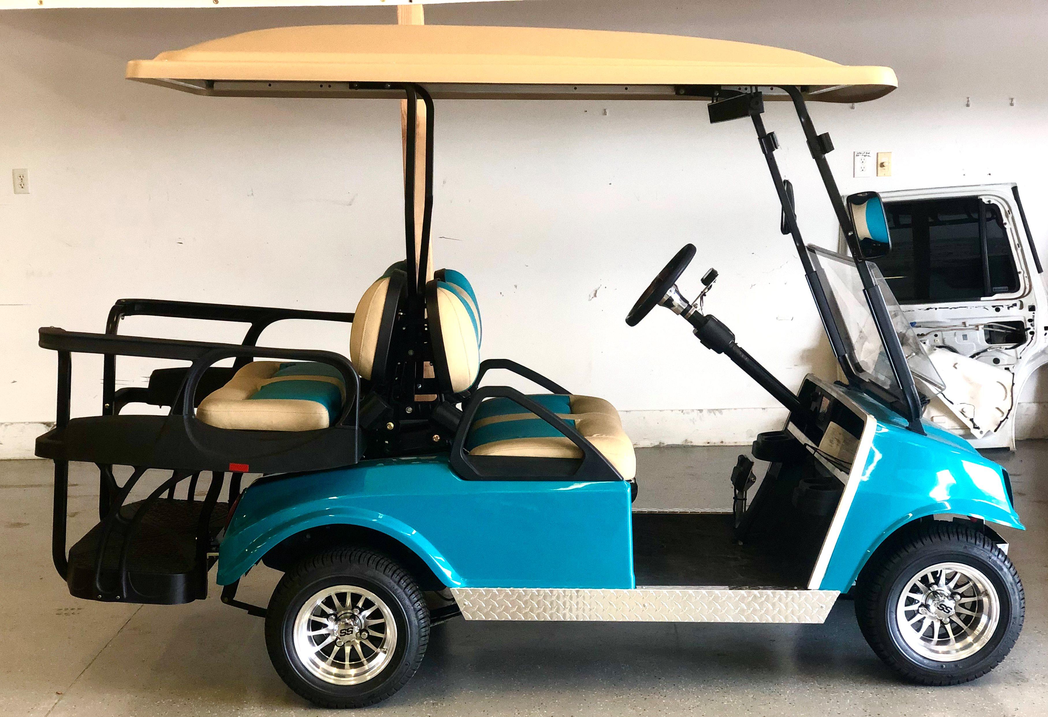 2020 Club Car 4 Passenger Custom Build