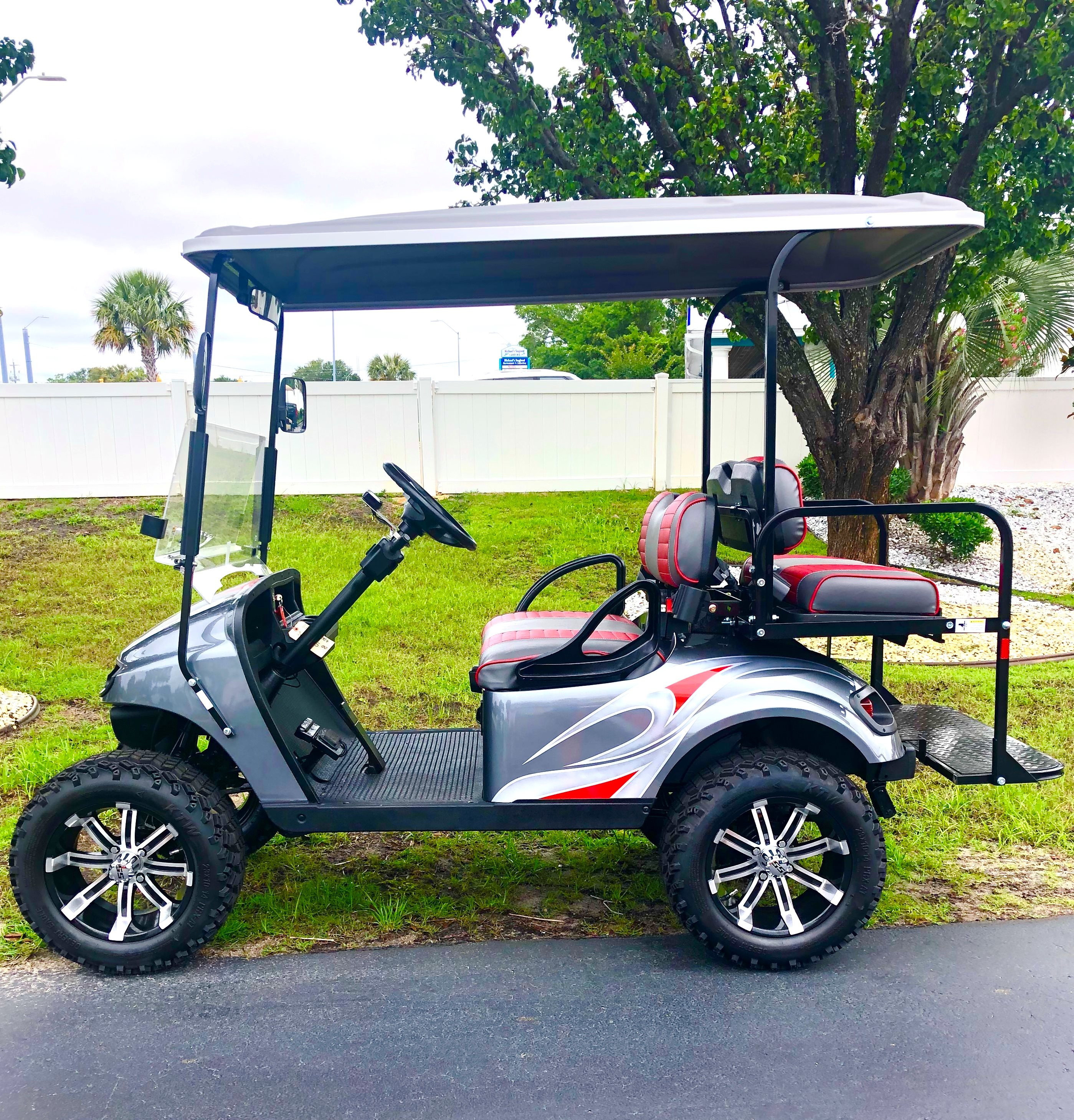 2020 Ezgo 4 Passenger with Custom Body