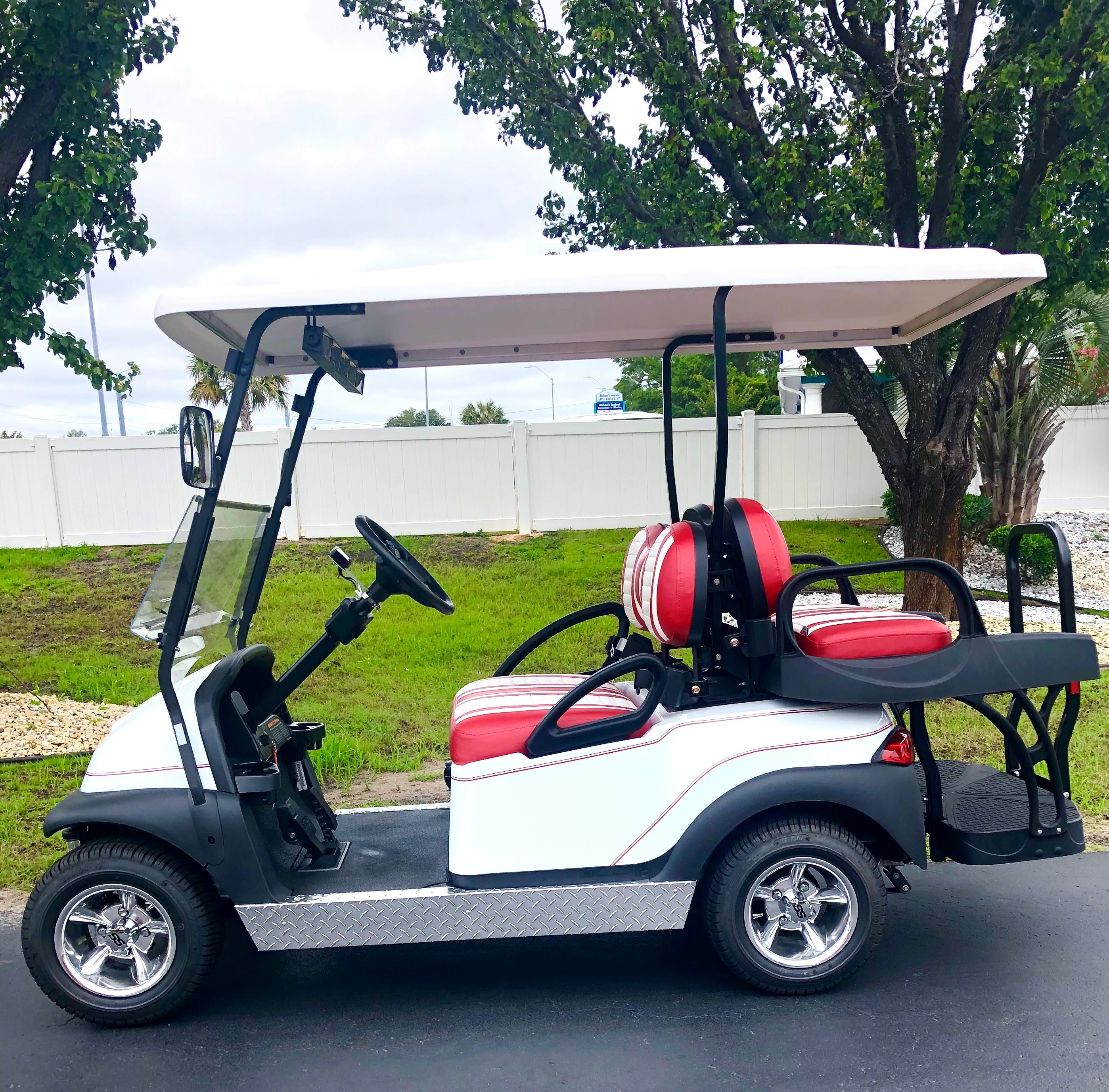 2020 Club Car 4 Passenger with Pinstripe