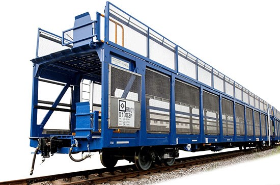 CSQ23 Double Deck Car Carrier Wagon