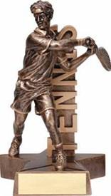 RST- Male Tennis Resin Figure