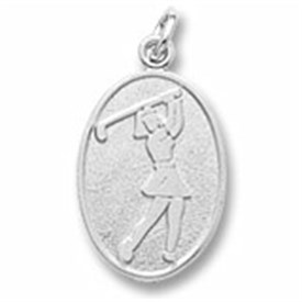 CHG - Sterling Silver Golf Charm