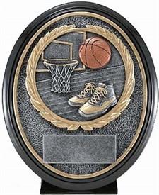 CAT-690 - Basketball Resin Trophy
