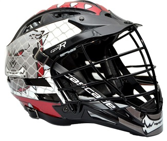 1 A-Extreme Multi-Color Full Helmet Decal Package Cascade