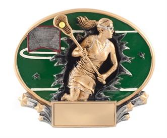 MX Female Lacrosse Trophy