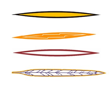 Stock Helmet Stripe 2 Color