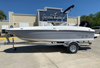 2021 Bayliner Element F18 Gray/White  Boat