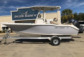 2021 Key West 219 FS Manta Gray  Boat