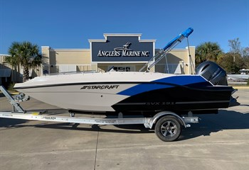 2021 Starcraft SVX 191 Electric Blue/Silver/Black Boat