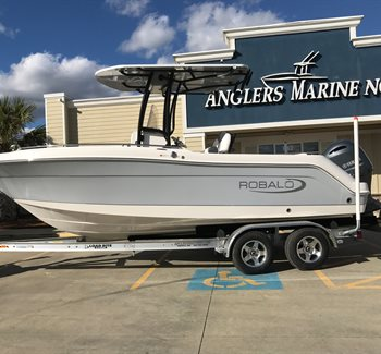 2019 Robalo R222 Alloy Grey liquid-unknown-field [type] Boat