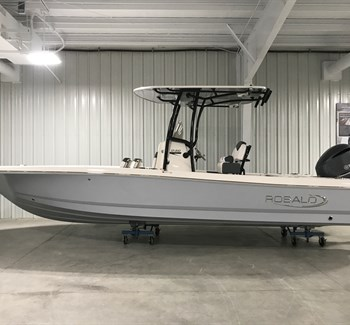 2019 Robalo R246 Cayman Alloy Grey New Boat