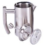 Carolina Coffee Frieling French Press - 44 oz. - Brushed